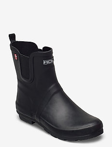 Silverwater W Rubber Boot - rain boots - black