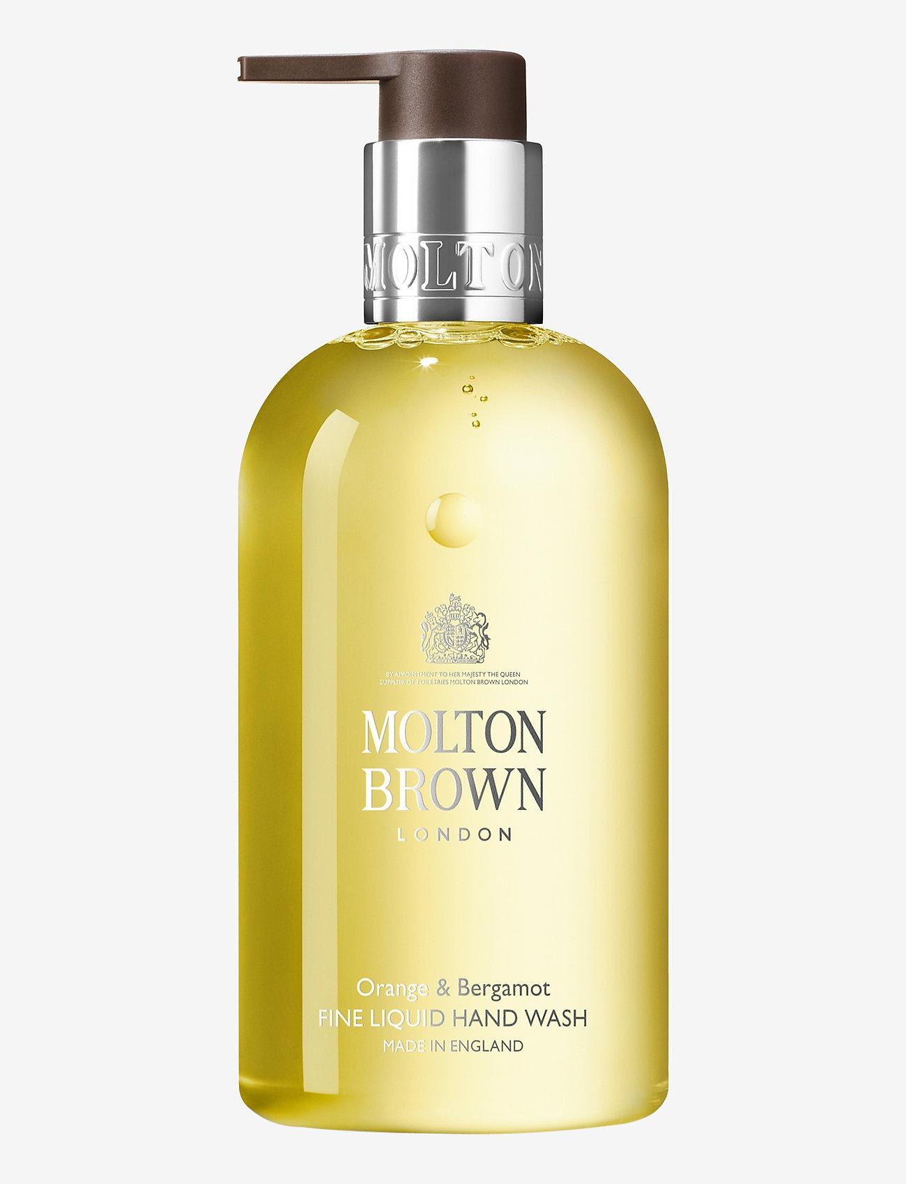 Molton Brown - Orange & Bergamot Fine Liquid Hand Wash - handtvål - no colour - 0