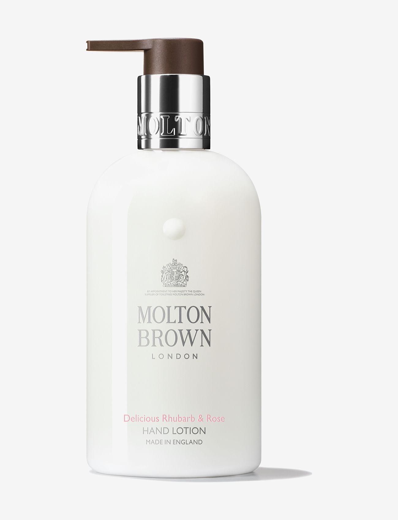 Molton Brown - Delicious Rhubarb & Rose Hand Lotion - handkräm & fotkräm - no colour - 0