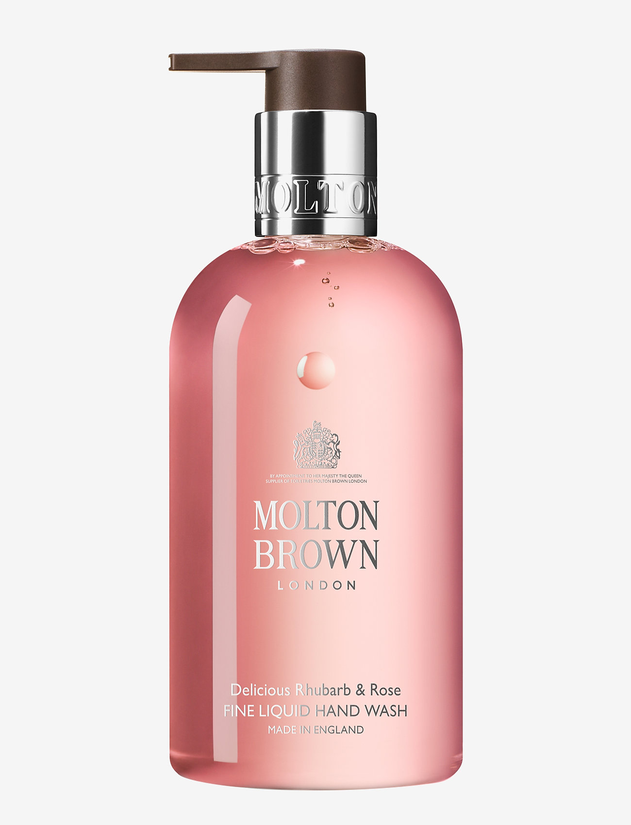 Molton Brown - Delicious Rhubarb & Rose Fine Liquid Hand Wash - handtvål - no colour - 0