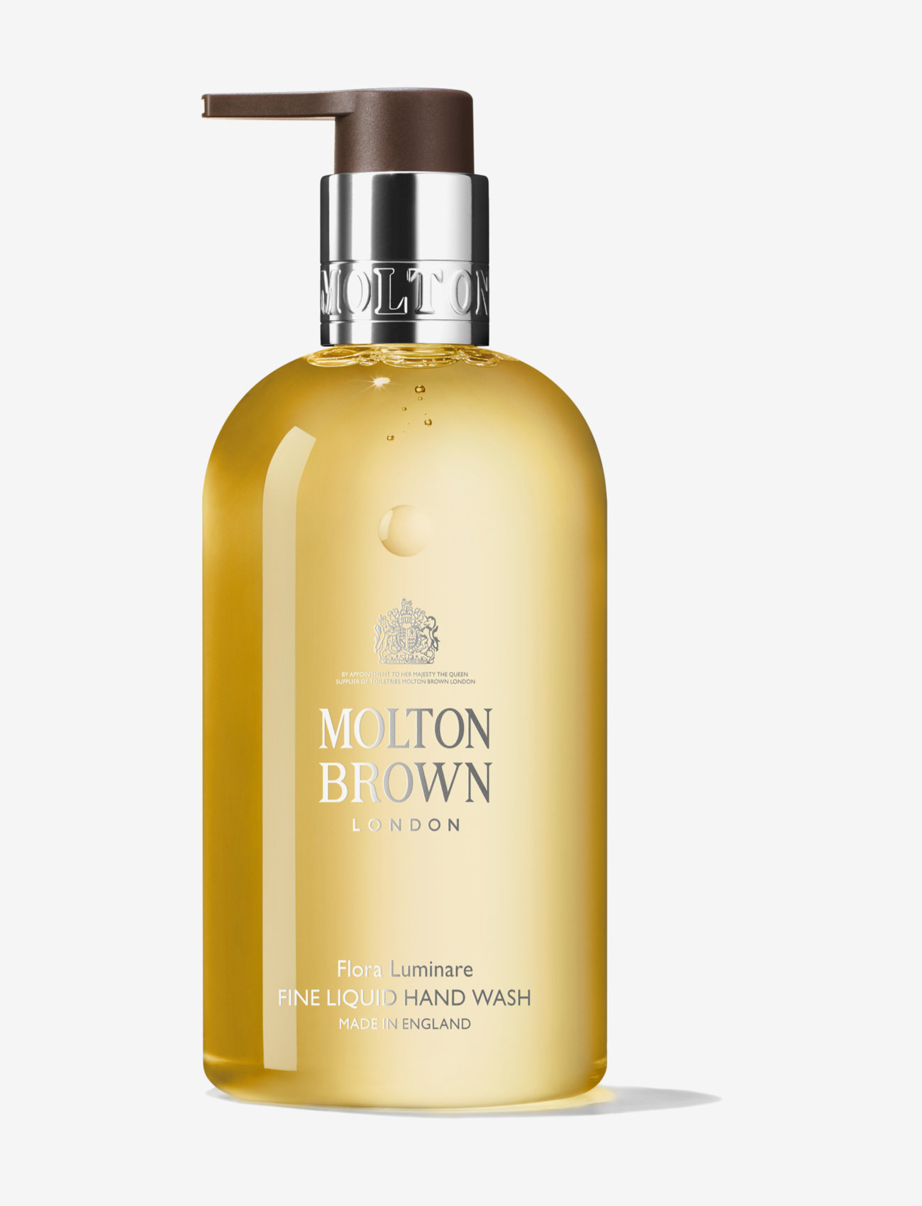 Molton Brown - FLORA LUMINAIRE HW - handtvål - clear - 0