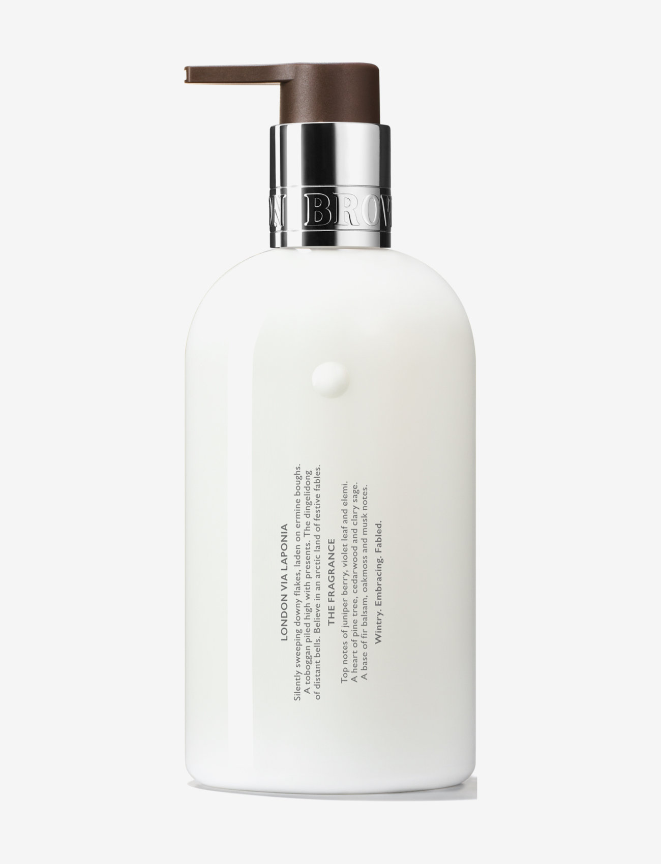 Molton Brown - FABLED JUNIPER BERRIES & LAPP PINE FINE LIQUID HAND LOTION - handkräm & fotkräm - no colour - 1