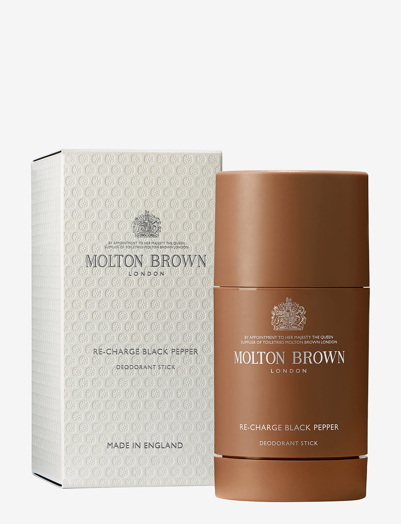 Molton Brown - Re-charge Black Pepper Deodorant Stick 75g - deo tikut - no colour - 0