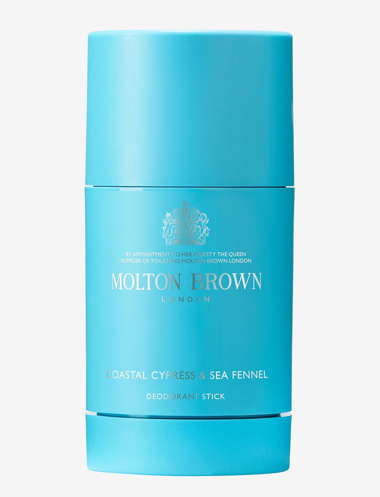 Molton Brown - Coastal Cypress & Sea Fennel Deodorant Stick 75g - deo roll-on - no colour - 0