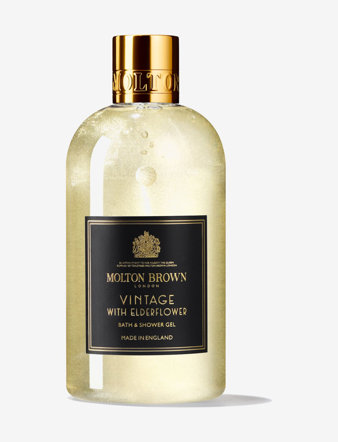Molton Brown - VINTAGE WITH ELDERFLOWER BATH & SHOWER GEL 300ML - bad & dusch - no colour - 0