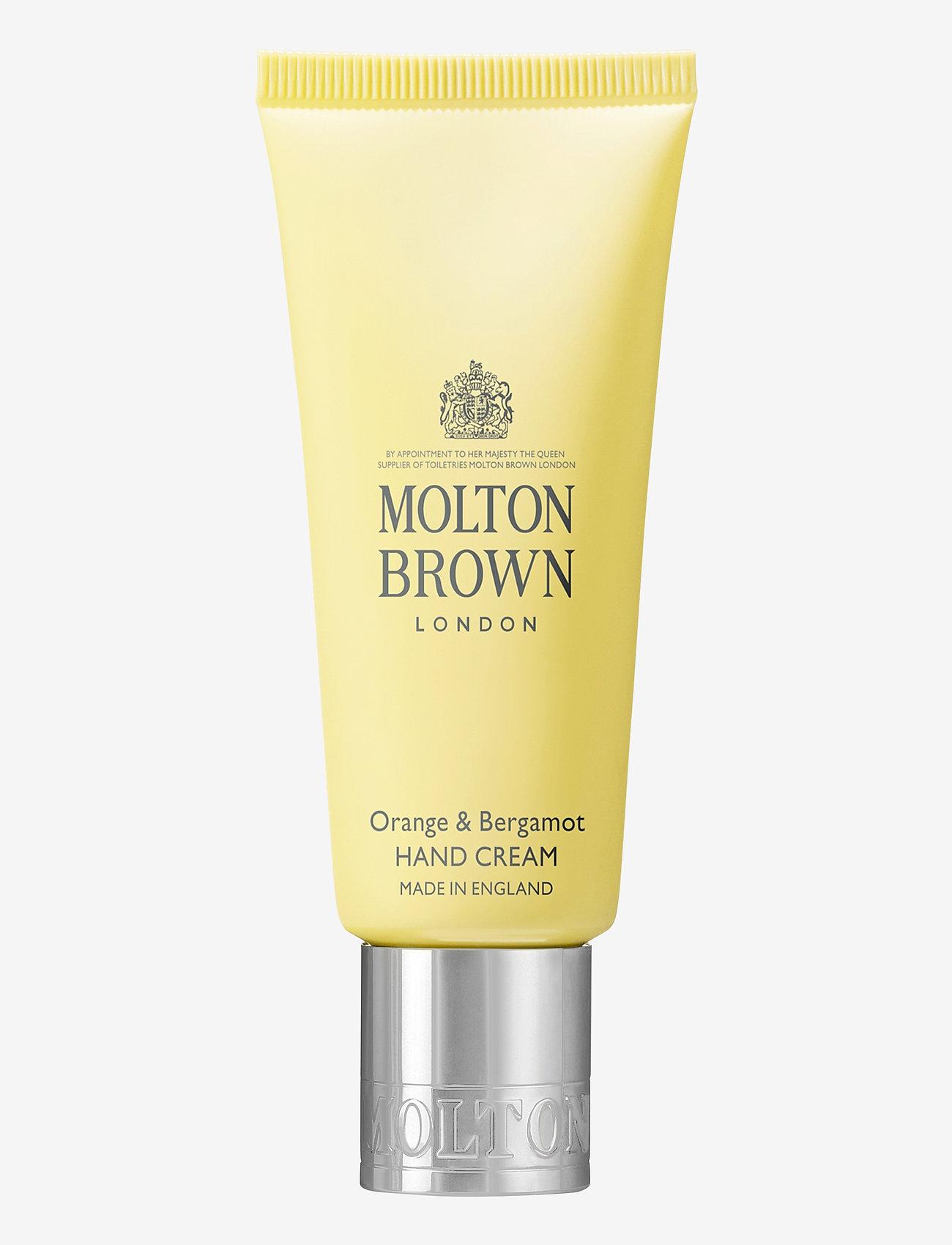 Molton Brown - Orange & Bergamot Hand Cream - handkräm & fotkräm - no colour - 0
