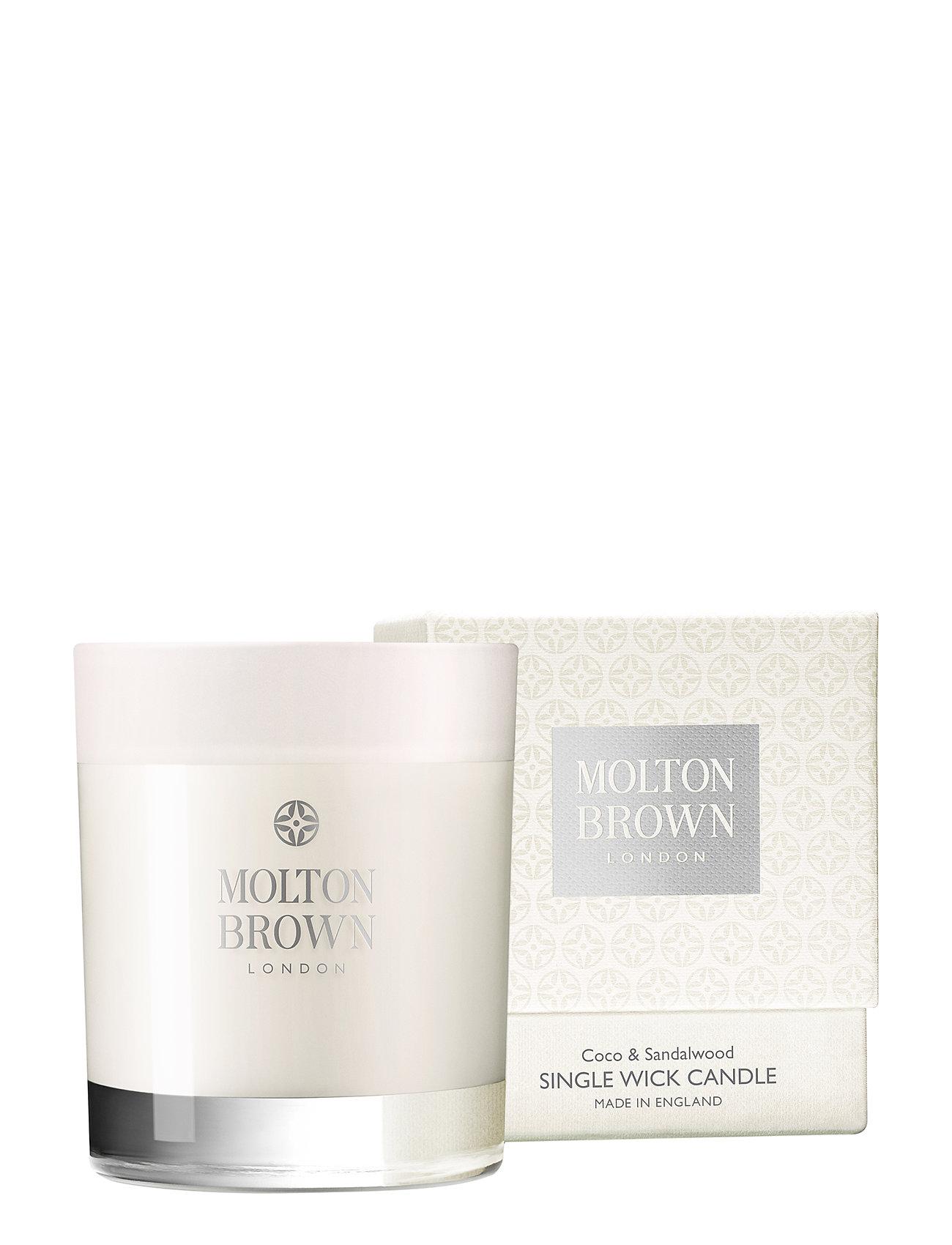 Molton Brown Coco & Sandalwood Single Wick Candle - NO COLOUR