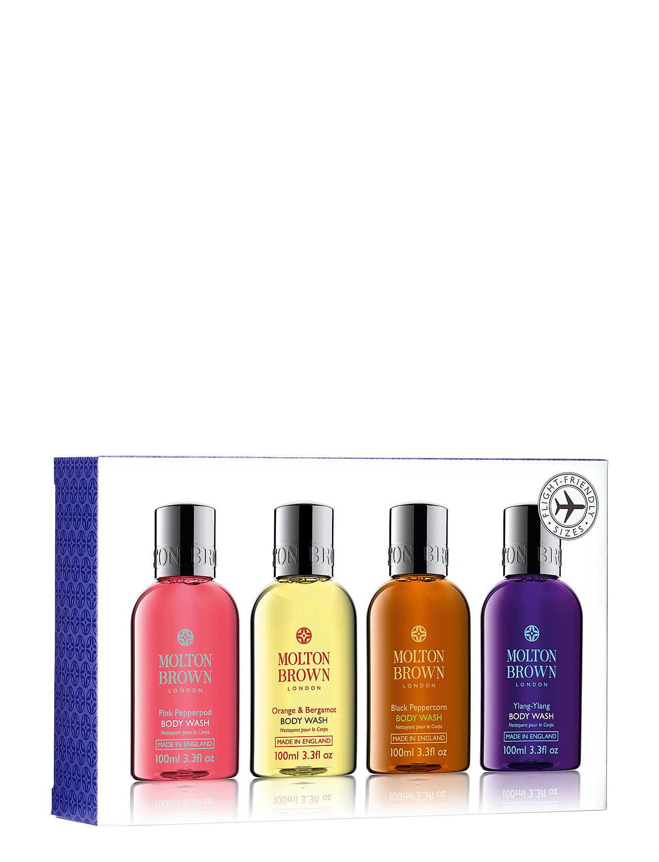 Molton Brown Bestsellers Travel Body Wash Set - NO COLOUR