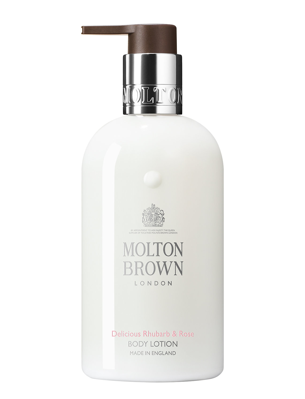 Image of Delicious Rhubarb & Rose Body Lotion Body Lotion Hudcreme Nude Molton Brown (3277932193)