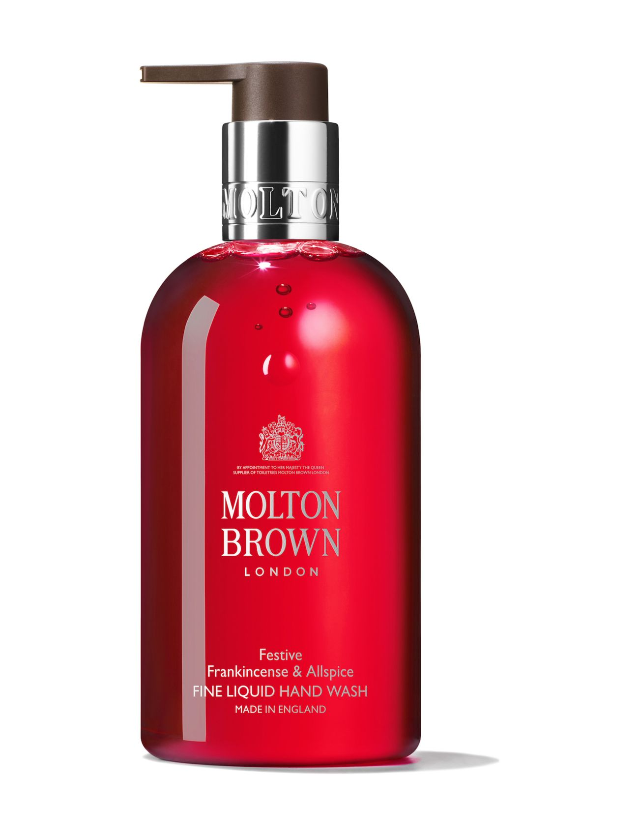 Molton Brown Festive Frankincense & Allspice Fine Liquid Hand Wash - NO COLOUR