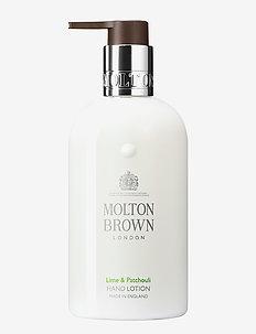 Lime & Patchouli Hand Lotion - body lotion - no colour