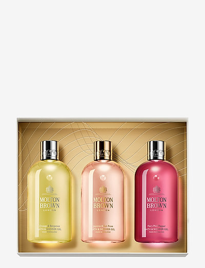 Floral & Citrus Collection - bath & body sæt - clear
