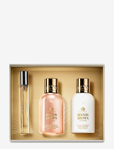 Jasmine & Sun Rose Fragrance Collection - bath & body sæt - clear