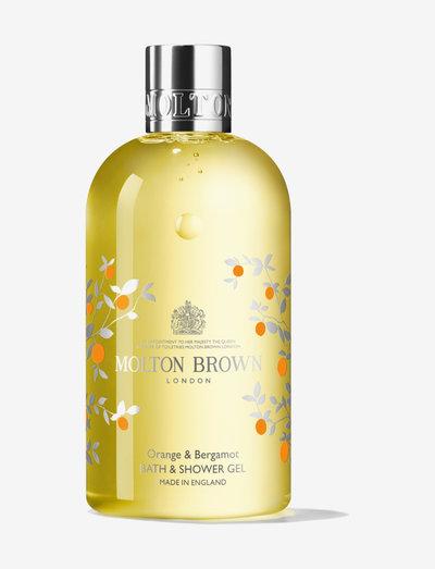 ORANGE & BERGAMOT 300ML BSG - shower gel - clear