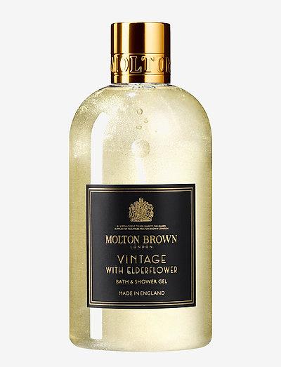 Vintage With Elderflower Bath & Shower Gel - suihku & kylpy - no colour