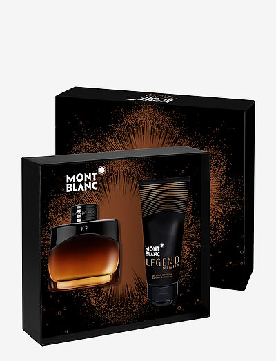 MONTBLANC LEGEND NIGHT Set - beauty giveaways - clear