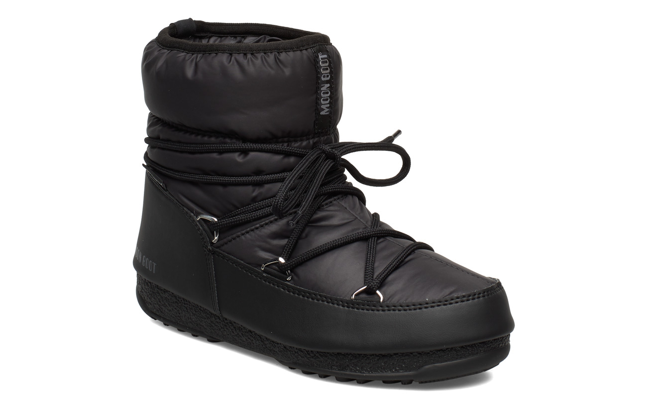 Moon Boot MB LOW NYLON WP 2 - BLACK