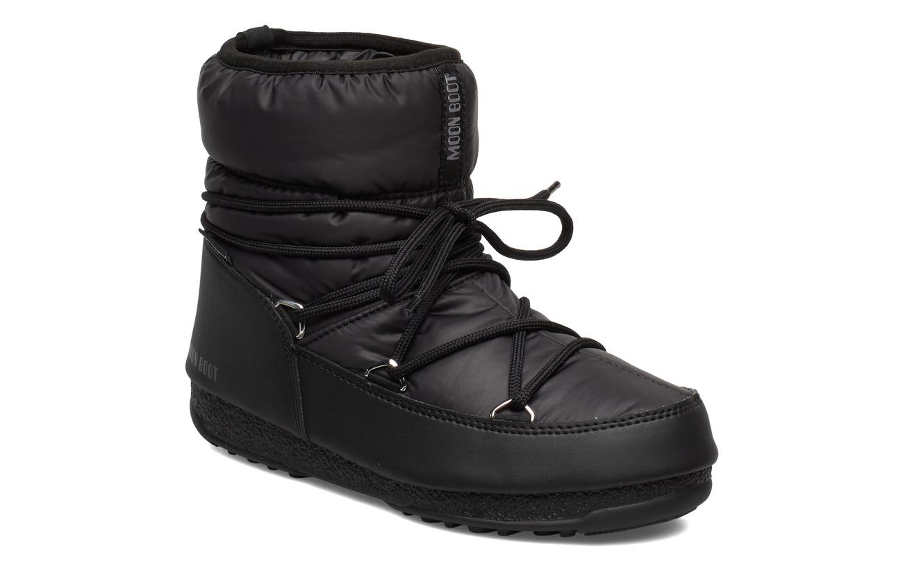 Moon Boot MB LOW NYLON WP 2 - BLACK
