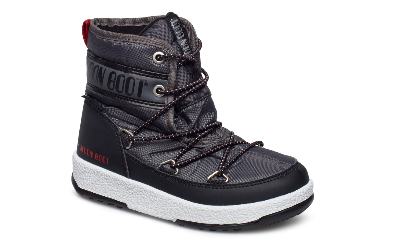 689d8906dbb Mb We Jr Mid Wp (Black-castlerock) (412.50 kr) - Moon Boot - | Boozt.com