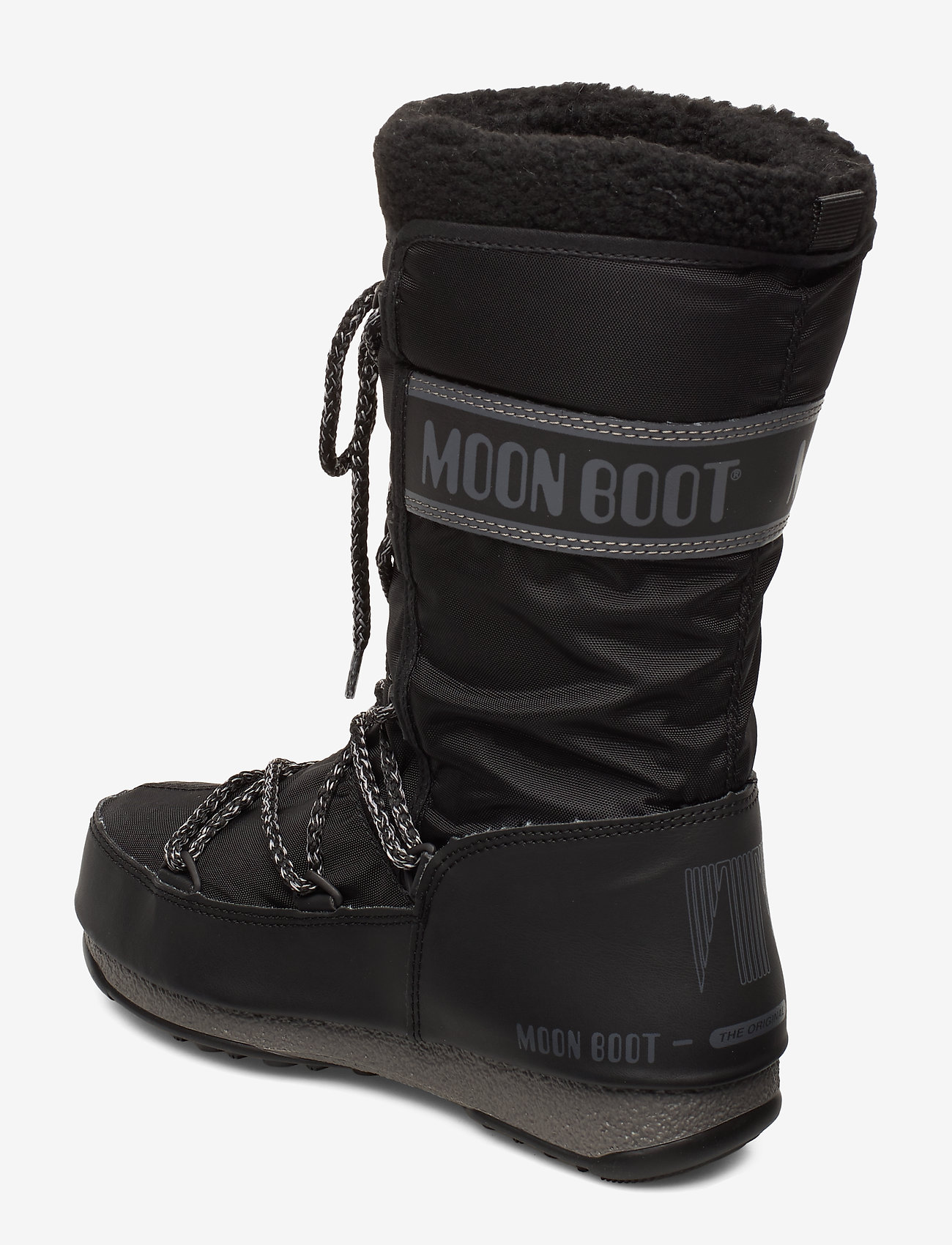 Mb Monaco Wool Wp (Black) - Moon Boot