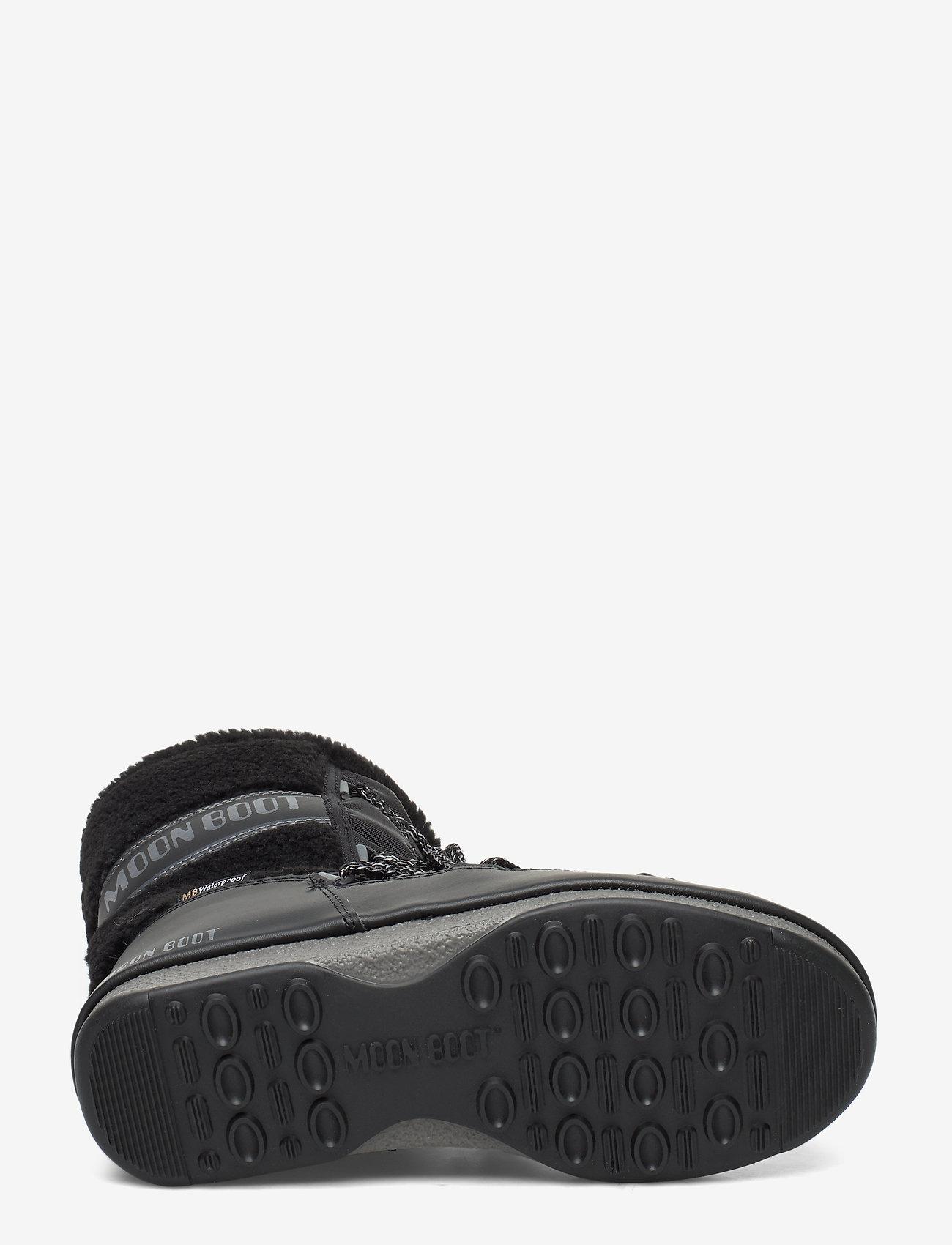 Mb Monaco Wool Mid Wp (Black) - Moon Boot