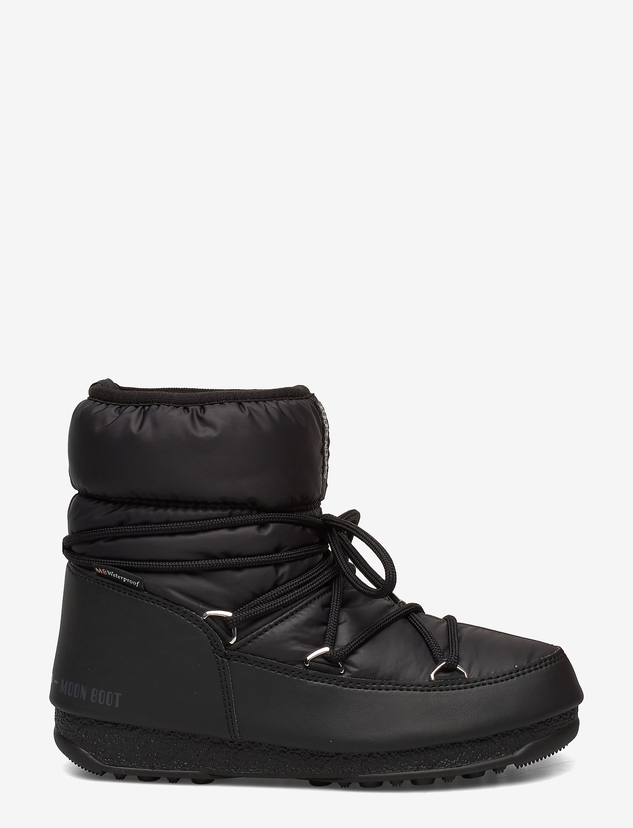 Moon Boot - MB LOW NYLON WP 2 - flat ankle boots - black - 0