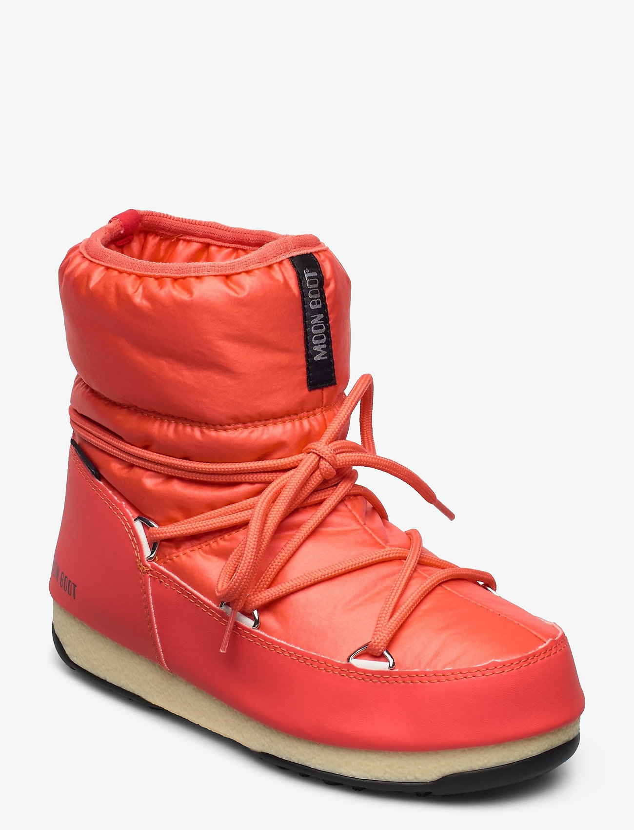 Moon Boot - MB LOW NYLON WP 2 - flat ankle boots - coral - 0