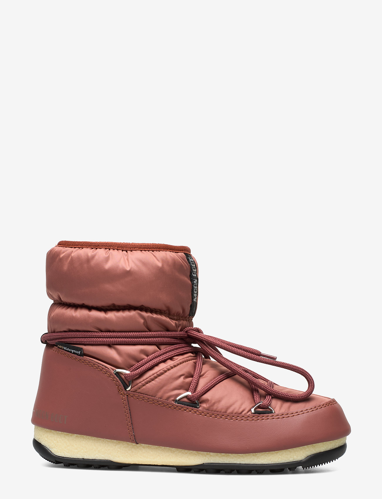 Moon Boot - MB LOW NYLON WP 2 - flat ankle boots - rust - 1