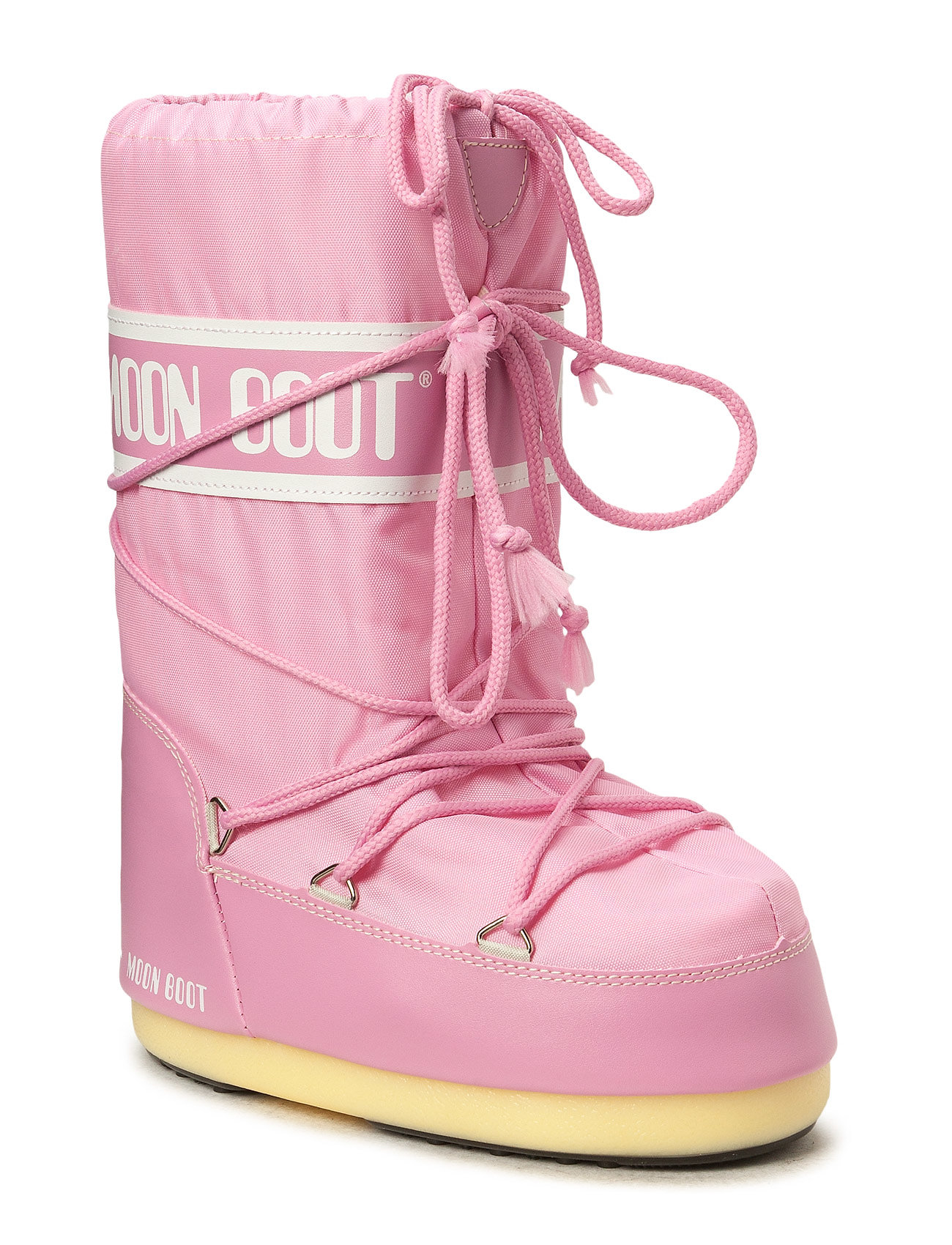 Image of Moon Boot Nylon Shoes Boots Ankle Boots Ankle Boot - Flat Lyserød Moon Boot (3446397215)