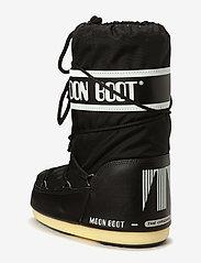 Moon Boot - MB MOON BOOT NYLON - puszābaki bez papēža - black - 1