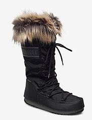 Moon Boot - MB MONACO WP 2 - flat ankle boots - black - 1