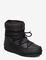 Moon Boot - MB LOW NYLON WP 2 - flat ankle boots - black - 1
