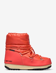 Moon Boot - MB LOW NYLON WP 2 - flat ankle boots - coral - 1