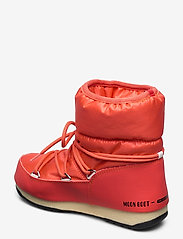 Moon Boot - MB LOW NYLON WP 2 - flat ankle boots - coral - 2
