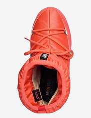 Moon Boot - MB LOW NYLON WP 2 - flat ankle boots - coral - 3