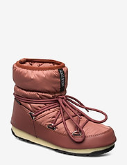 Moon Boot - MB LOW NYLON WP 2 - flat ankle boots - rust - 0