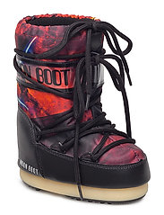 MB MOON BOOT SW FIRE - RED-BLACK