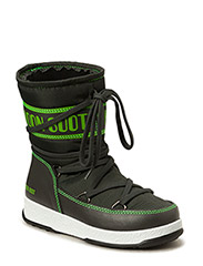 MOON BOOT W.E. SPORT MID JR - GREEN GREY