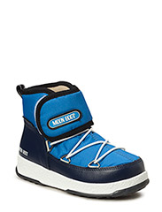 MB MOON BOOT W.E. JR STRAP WP - AZZURRO-BLUE NAVY