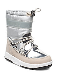 MB MOON BOOT JR GIRL SOFT WP - SILVER 003