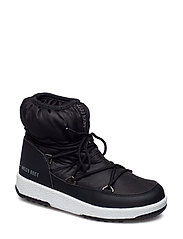 MB M.BOOT WE JR GIRL LOW NYLON WP - BLACK 001