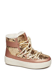 MB M.BOOT PULSE Z JR GIRL GLITTER - GOLD-COPPER