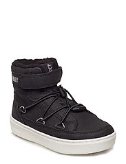 MB MOON BOOT PULSE JR BOY PARIS - BLACK