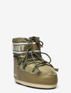 MB CLASSIC LOW 2 - flat ankle boots - khaki