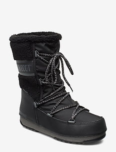 MB MONACO WOOL MID WP - BLACK