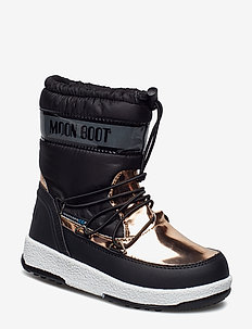 MB MOON BOOT W.E. JR GIRL SOFT WP - BLACK-COPPER 001