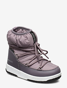 MB M.BOOT WE JR GIRL LOW NYLON WP - MAUVE