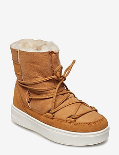 MB M.BOOT PULSE JR GIRL SHEARLING - WHISKEY
