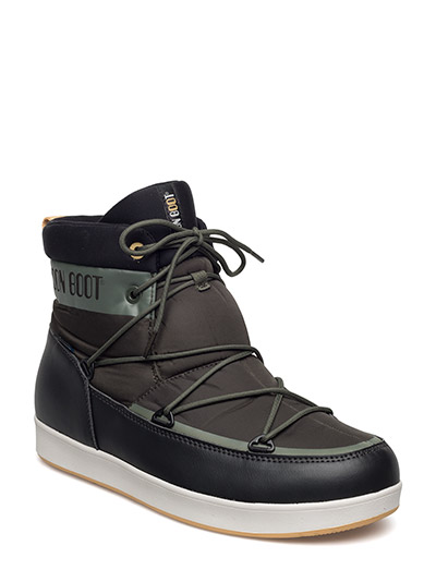 MB MOON BOOT NEIL - G.OLIVA-BLACK-OCRA