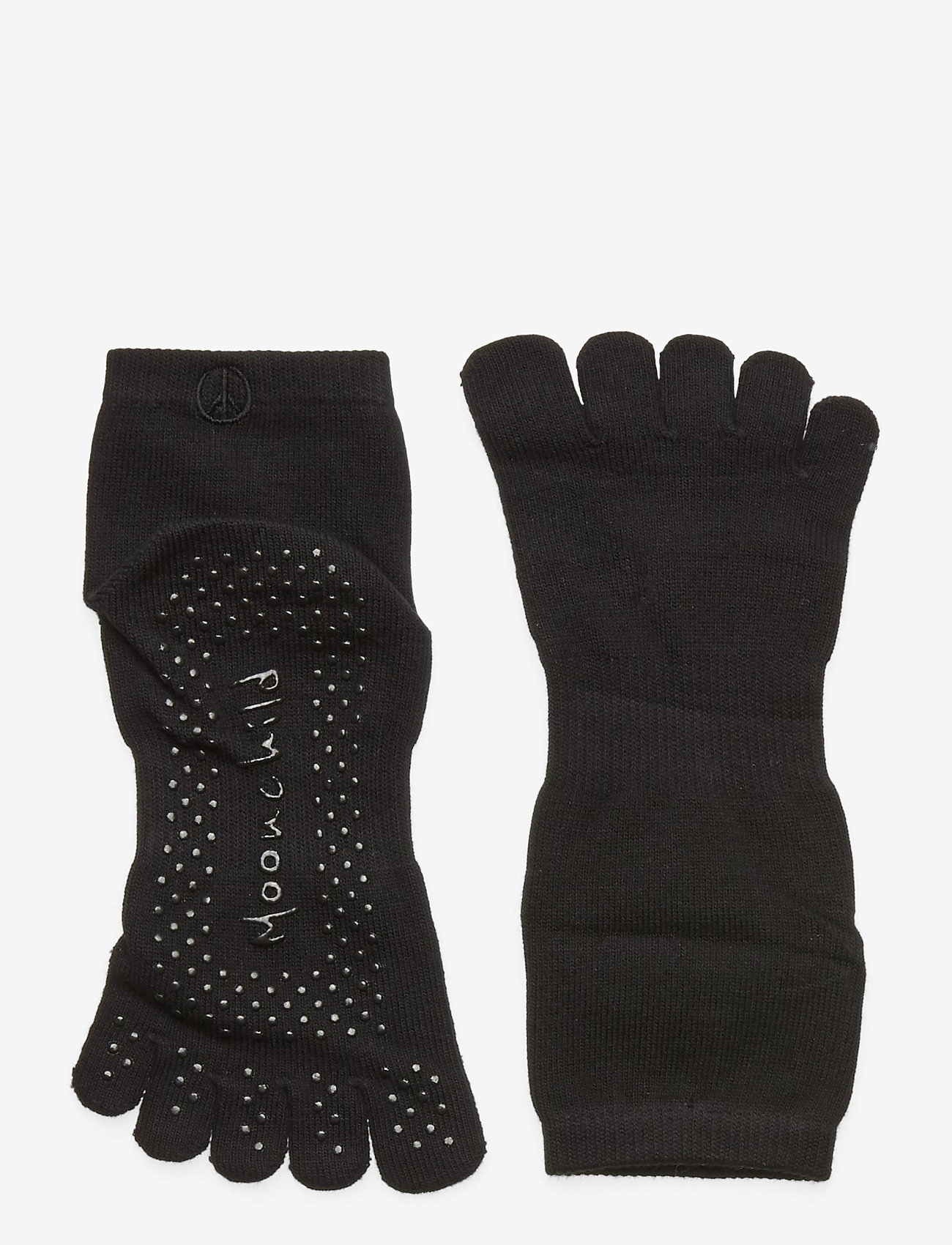 Moonchild Yoga Wear - Moonchild Grip Socks - High - yogamatten & uitrusting - onyx black - 1